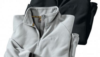 2er-Pack Poloshirts aus Microfleece