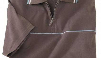 Poloshirt Relax mit Zipper