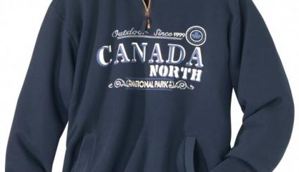 Molton-Sweatshirt Canada North