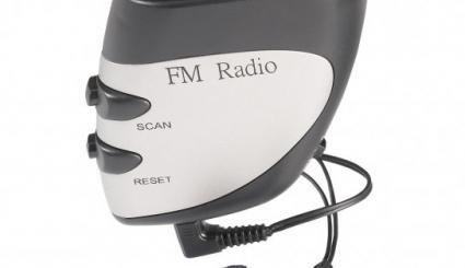 Schrittzähler mit Multifunktions-Radio