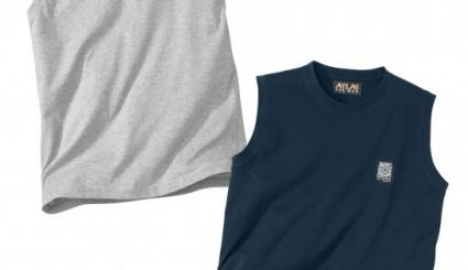 2er-Pack ärmellose T-Shirts